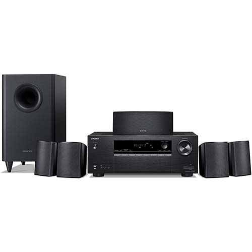 8. Onkyo HT-S3900 5.1-Channel Home Theater Receiver/Speaker