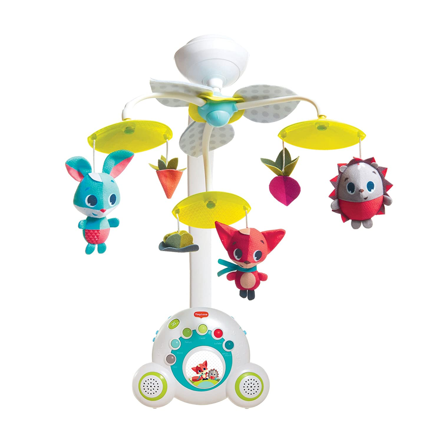 7. Tiny Love Meadow Days Soothe 'n Groove Baby Mobile