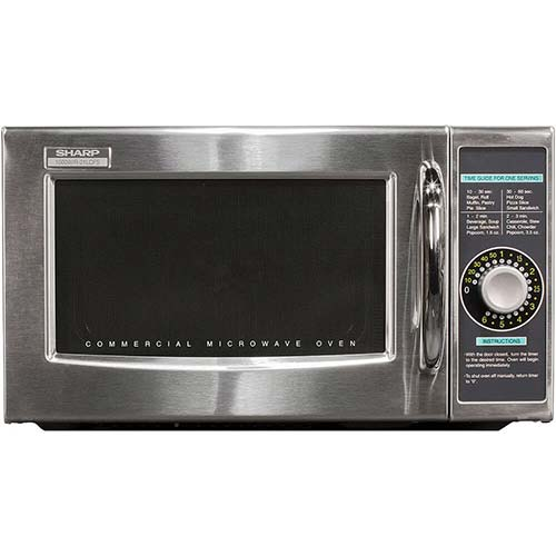 2. Sharp R-21LCFS Medium-Duty Commercial Microwave Oven