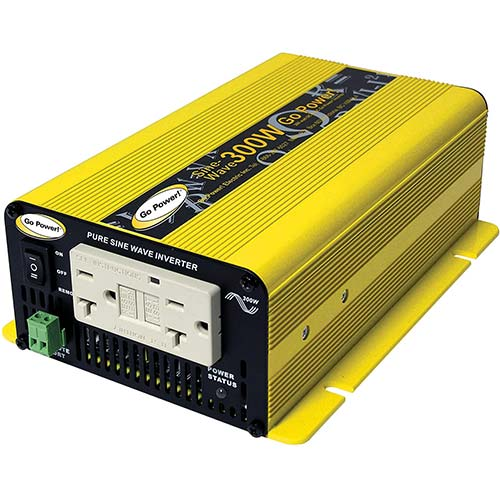 4. Go Power! GP-SW300-12 300-Watt Pure Sine Wave Inverter
