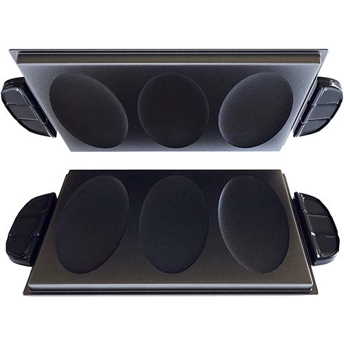 8. George Foreman Evolve Grill System Omelet Plates, GFP84OP