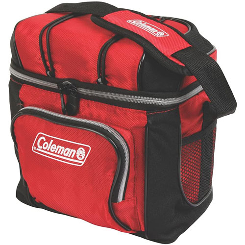 8. Coleman 9-Can Soft Cooler with Removable Liner
