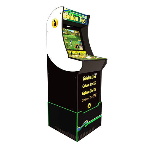 9. Arcade 1Up Golden Tee Classic Arcade