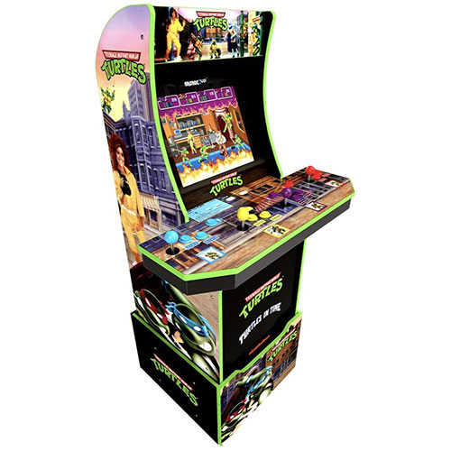 1. Teenage Mutant Ninja Turtles Arcade Machine