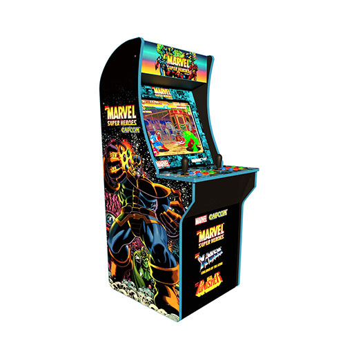 7. Arcade 1Up Marvel Super Heroes At-Home Arcade Machine