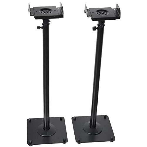 1. VideoSecu 2 Heavy Duty PA DJ Club Adjustable Height Satellite Speaker Stand Mount