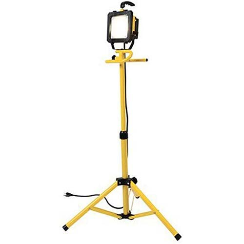 10. All Pro LED Portable Worklight with Telescoping Tripod, 46-Inch, 300-watt Equivalent, 2600 Lumens