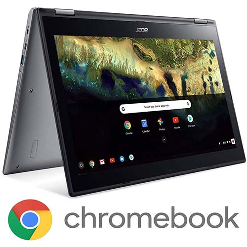 3. Acer Chromebook Spin 15 Convertible Laptop, Intel Pentium N4200, 15.6