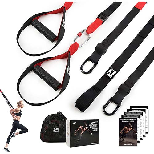 2. RitFit Bodyweight Resistance Trainer Kit