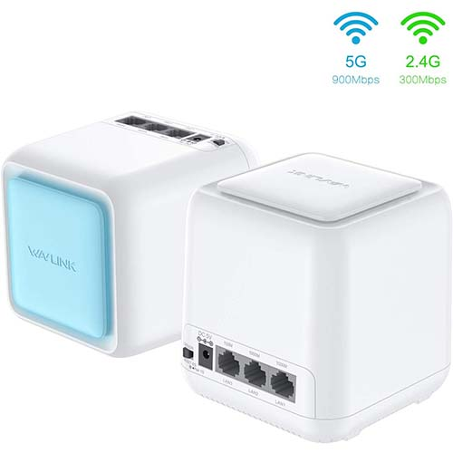 10. Mesh WiFiRouter,Dual Band AC1200 Whole Home Mesh WiFi System with Touchlink Function