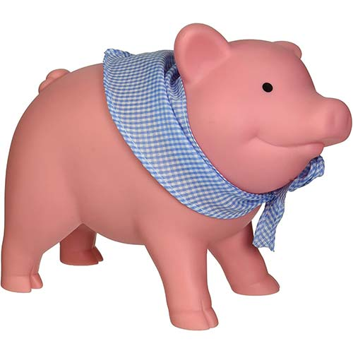 3. Schylling Rubber Piggy Bank