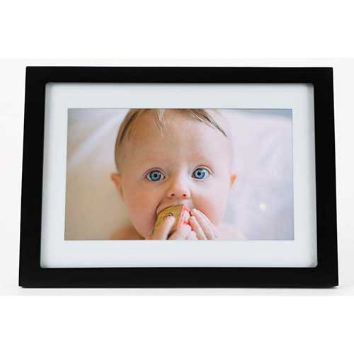 4. Skylight Frame - 10 Inch Wifi Digital Picture Frame, Email Photos from Anywhere, Touch Screen Display