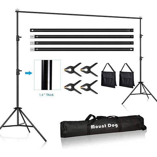 Top 10 Best Heavy Duty Backdrop Stands in 2020 Reviews