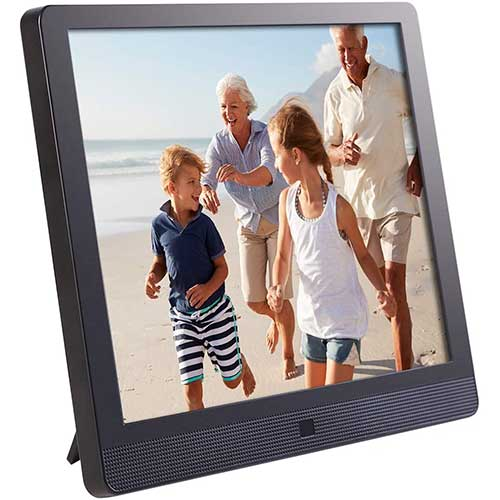 3. Pix-Star 10 Inch Wi-Fi Cloud Digital Picture Frame with IPS high resolution display, DLNA and Motion Sensor