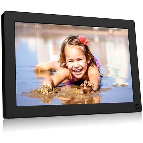 10. BSIMB Digital Picture Frame 10.1 Inch WiFi 16GB Digital Photo Frame 1280x800 IPS Touch Screen