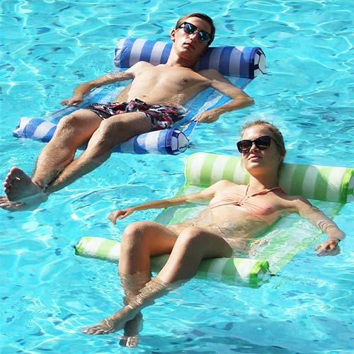 8. FindUWill 2-Pack Premium Swimming Pool Float Hammock, Multi-Purpose Inflatable Hammock