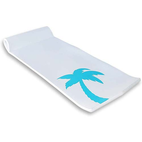 2. California Sun Deluxe Oversized Unsinkable Foam Cushion Pool Float - (White Palm Tree)