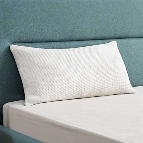 9. Sweetnight Bamboo Pillows for Sleeping-Bed Pillows with Bamboo charcoal Shredded Memory Foam,Customized Loft Memory Foam pillow