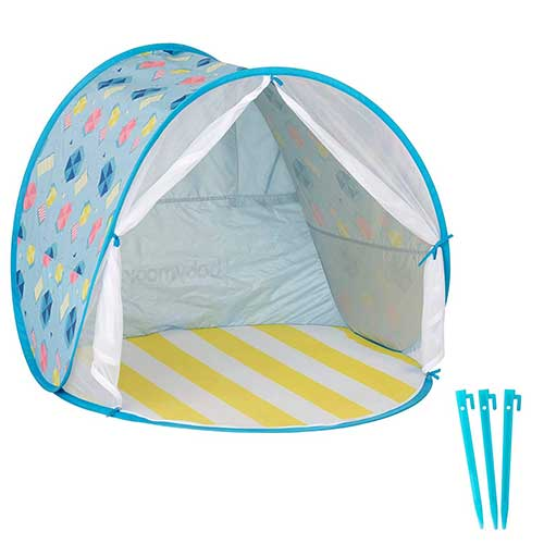 10. Babymoov Anti-UV Beach Tent | UPF 50+ Sun Protection with Pop Up System