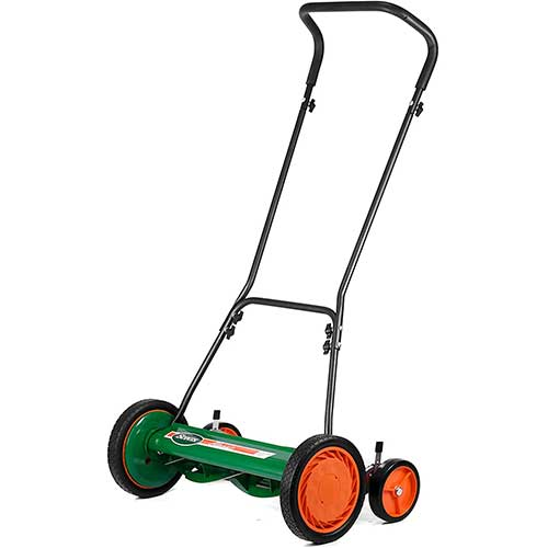 8. Scotts Outdoor Power Tools 2000-20S 20-Inch 5-Blade Classic Push Reel Lawn Mower
