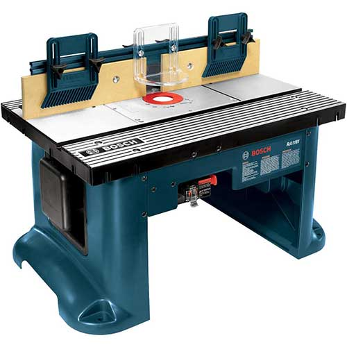 8. Bosch Benchtop Router Table RA1181