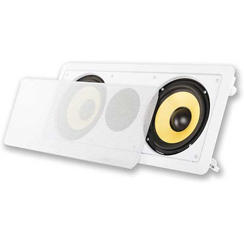 9. Acoustic Audio HD-6c In-Wall 6.5