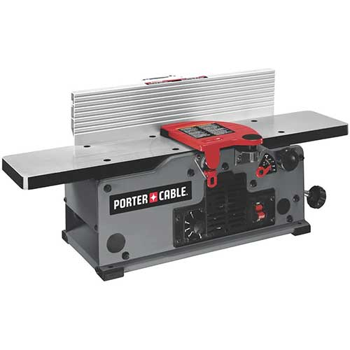 7. PORTER-CABLE Benchtop Jointer, Variable Speed, 6-Inch (PC160JT)
