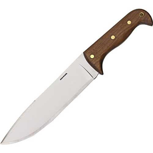 10. Condor Tool & Knife, Moonshiner, 9in Blade, Wood Handle with Sheath