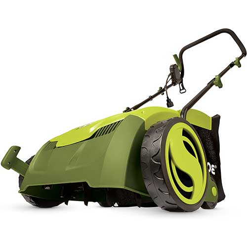 2. Sun Joe AJ801E 13 in. 12 Amp Electric Scarifier + Lawn Dethatcher w/Collection Bag