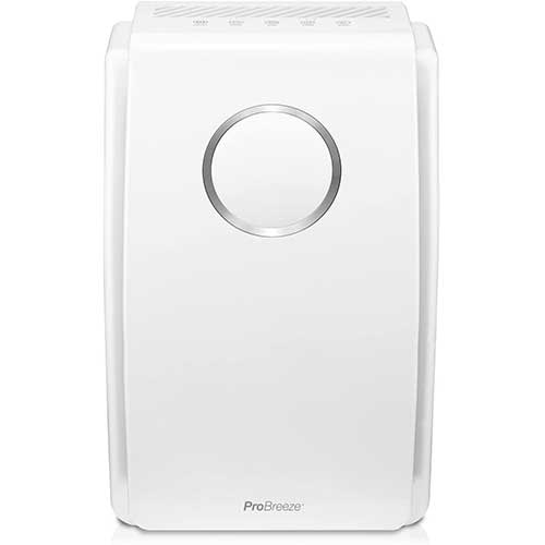 2. Pro Breeze 5-in-1 Air Purifier with True HEPA Filter, Carbon Filter and Negative Ion Generator