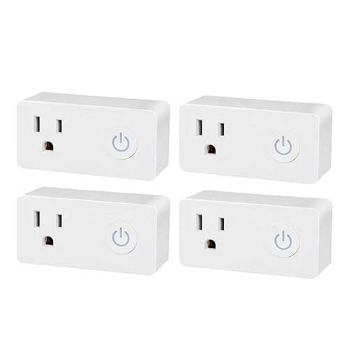 9. BN-LINK WiFi Heavy Duty Smart Plug Outlet, No Hub Required with Energy Monitoring and Timer Function
