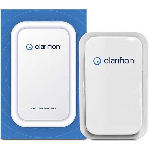 1. Clarifion - Negative Ion Generator with Highest Output (1 Pack) Filterless Mobile Ionizer & Travel Air Purifier