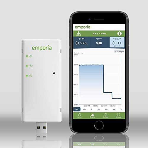 3. Sense Energy Monitor with Solar – Track Electricity Usage and Solar Production in Real Time and Save Money