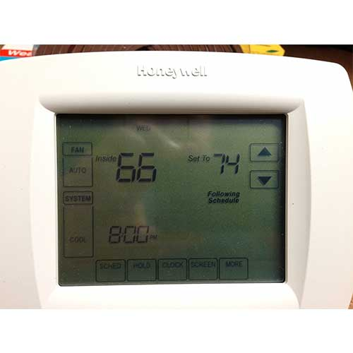 7. Honeywell TH8110U1003 Vision Pro 8000 Digital Thermostat