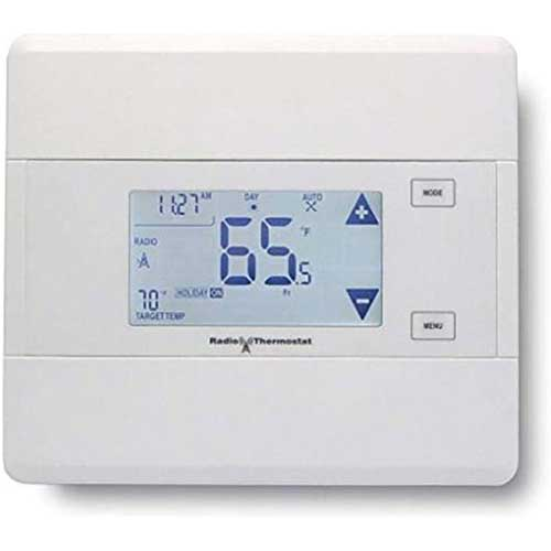 6. 2gig CT100 Z-Wave Programmable Thermostat (White)