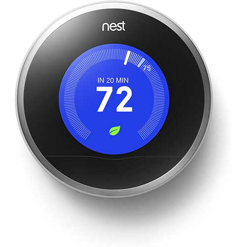5. Nest Learning Thermostat, 2nd Generation, Works with Amazon Alexa