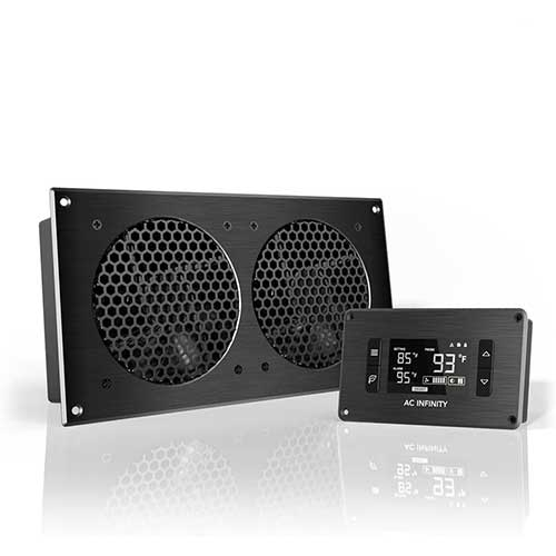 8. AC Infinity AIRPLATE T7, Quiet Cooling Fan System 12
