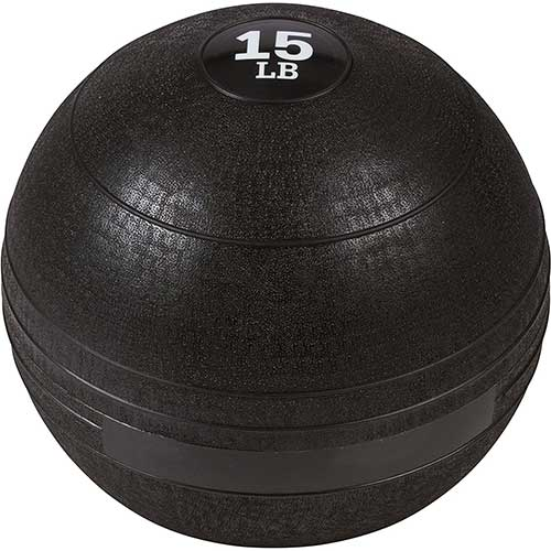 8. Trademark Innovations Exercise Slam Medicine Ball-15 Lbs