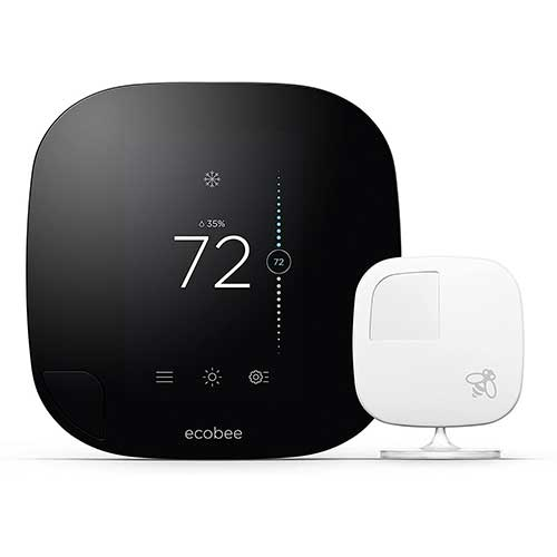 4. ecobee3 Smarter Wi-Fi Thermostat with Remote Sensor, 2nd Generation