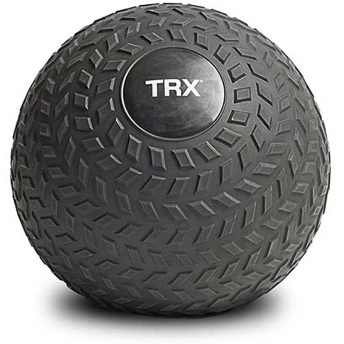 4. TRX Training Slam Ball, Easy- Grip Tread & Durable Rubber Shell