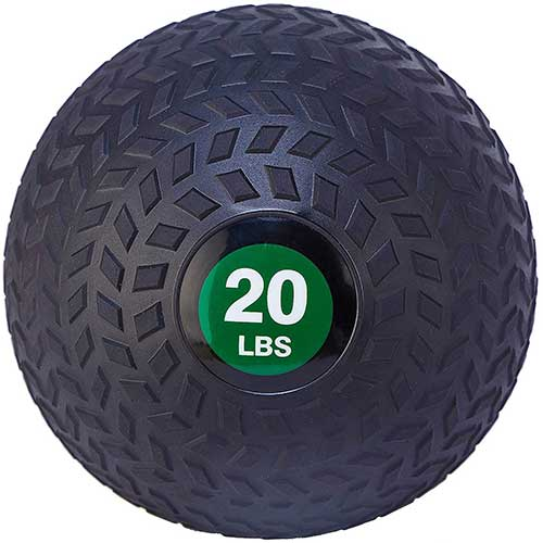 2. BalanceFrom Workout Exercise Fitness Weighted Medicine Ball, Wall Ball and Slam Ball