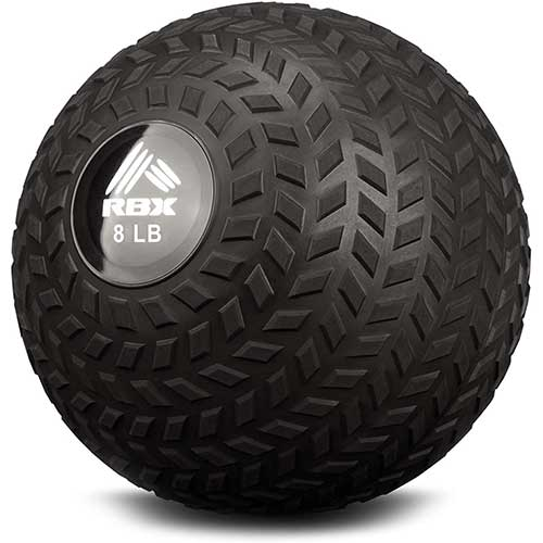 5. RBX Weight Training Slam Ball for Crossfit, Strength & Conditioning Exercises - 8 lbs. or 10 lbs.