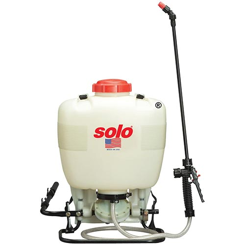 Best Pump Sprayers for Bleach 4. TABOR TOOLS 2.0 Gallon Lawn and Garden Pump Pressure Sprayer for Herbicides, Fertilizers, Mild Cleaning Solutions and Bleach, Includes Shoulder Strap. N-80. (2.0 Gallon)