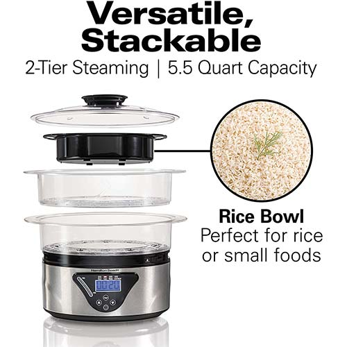 Top 10 Best Food Steamer BPA Free in 2021 Reviews